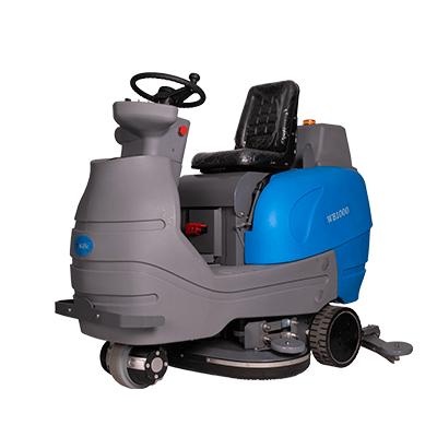 驾驶式洗地机WB1000上海德沁机械有限公司