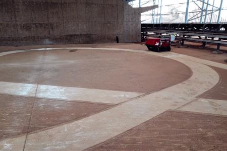 宝钢集团自动扫地机案例