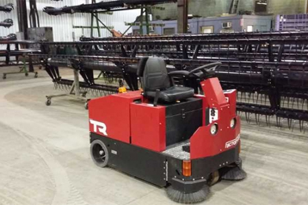 TR驾驶式洗地机应用案例