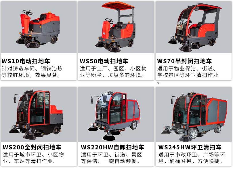驾驶式扫地机WS30